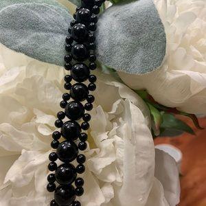 Black coral bracelet